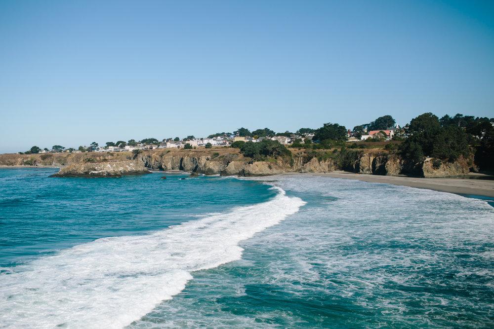 mendocino overlook bay viewpoint