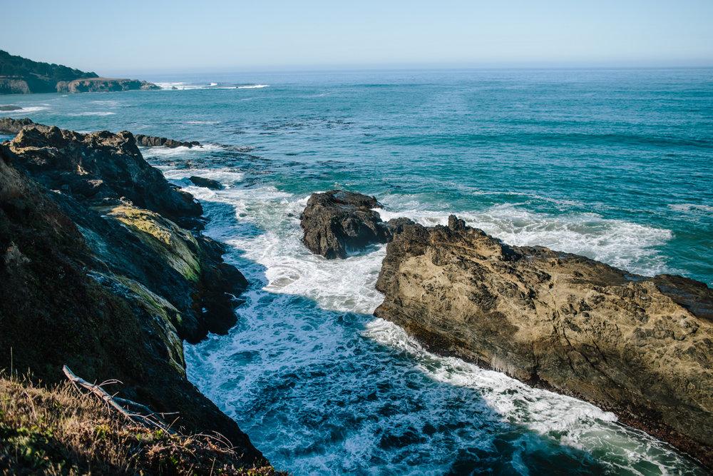 mendocino overlook view ocean