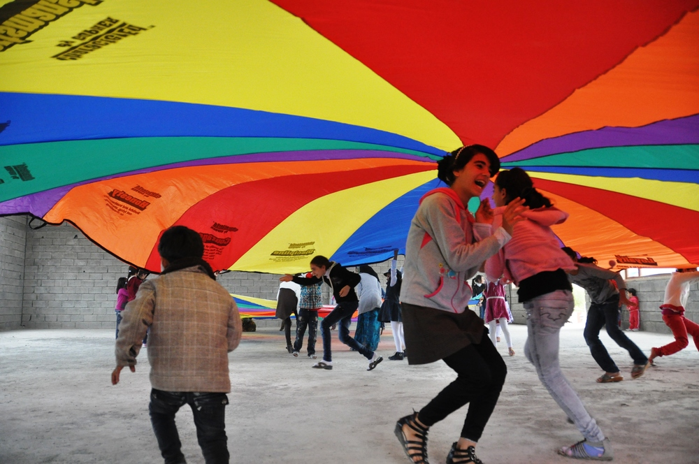 Having fun with the Parachute 1.jpg