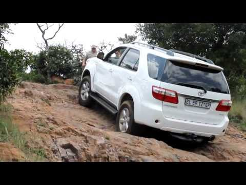 A Toyota Fortuner in Action