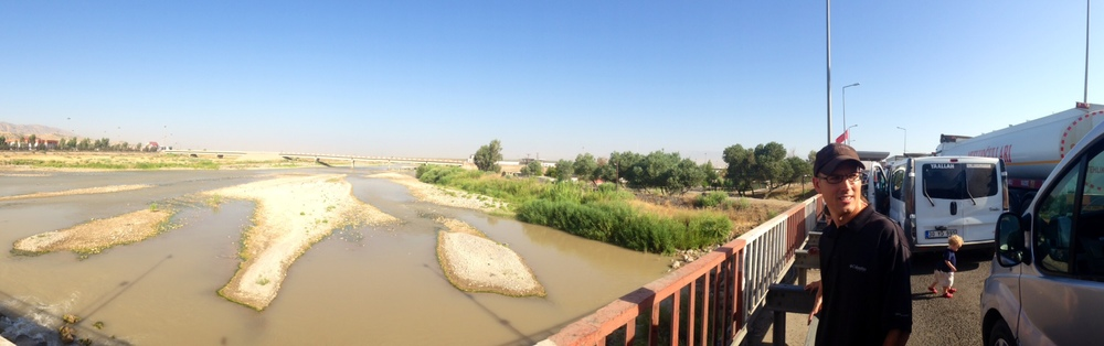 Crossing the Tigris River