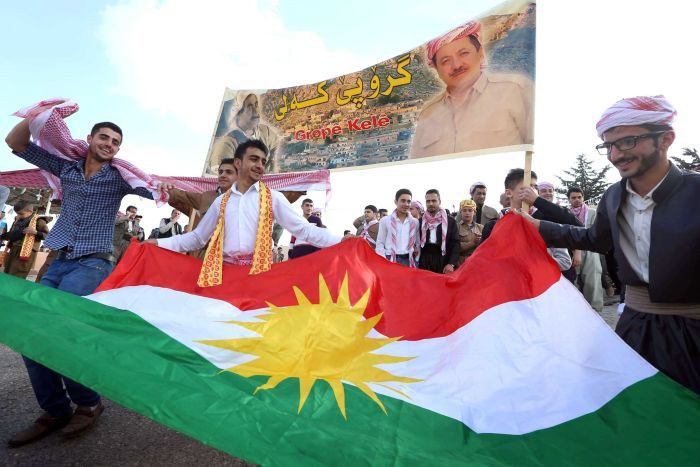 PHOTO: Iraqi Kurdistan is home for six million ethnic Kurds. (AFP: Safin Hamed)