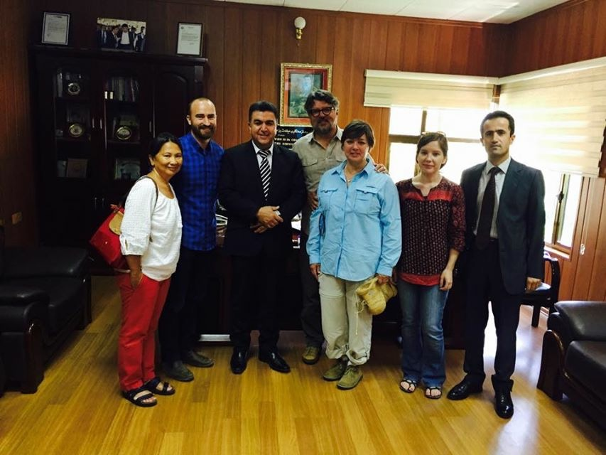 Meeting the Mayor of Soran