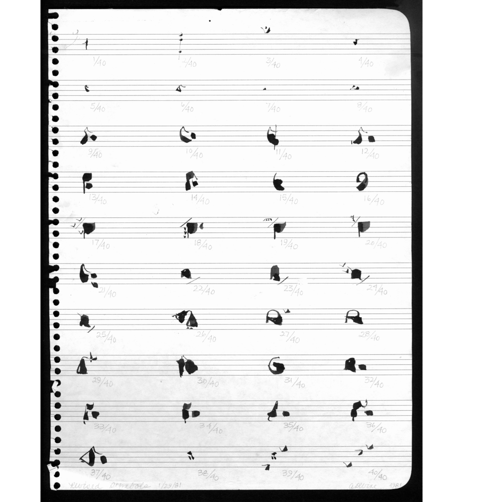 Glyphs Refined, 1981