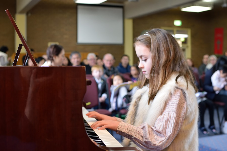 Hanna performing 'My Favourite Things' at our Mid Year Concert, June 2016