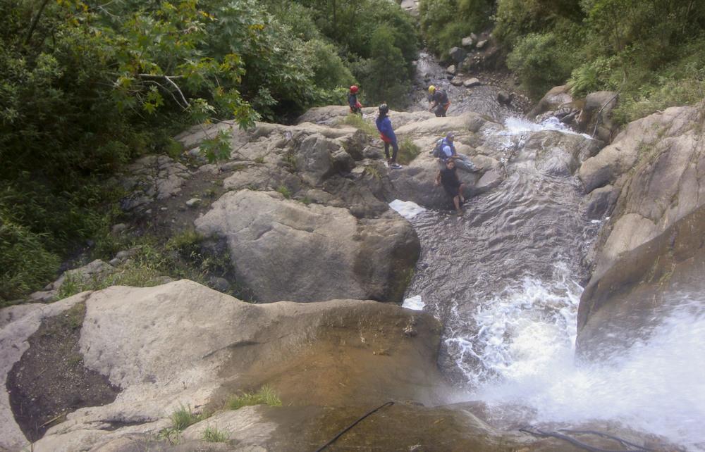 Canyoning in Banos