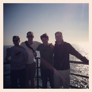 Hanging out on Santa Monica Pier!