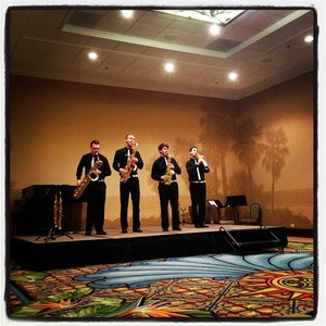 Performing at MTNA finals