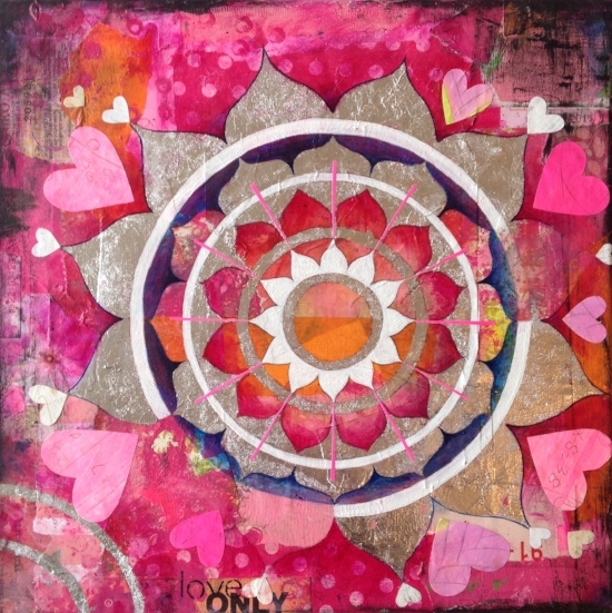 Heart Mandala (Sold)