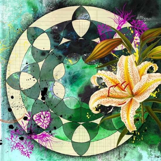 Mountain Lily Mandala