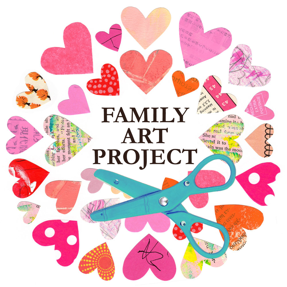 Family Art Project dglsdjljadklgjakdsjgaksj