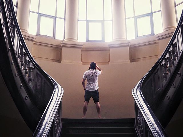 Look further - for if skies were ever the limit, we don't discover galaxies. #vscohcm #warremnantsmuseum #roadstovictory