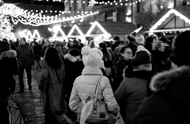 Feeling lost in the crowd F2.0/ISO 3200