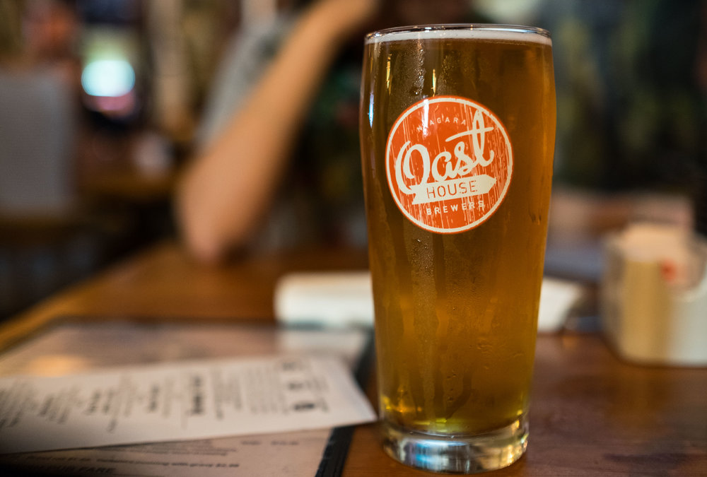 The Angel Inn has a wide selection of draft beers on tap, including some local brews. The must-try item on their menu is the English style Fish N' Chips.