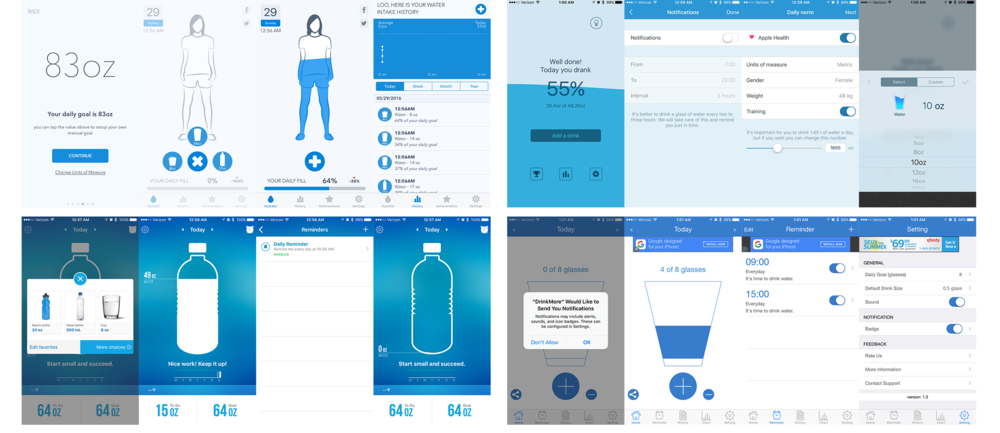 Competitor Apps's Visual Design