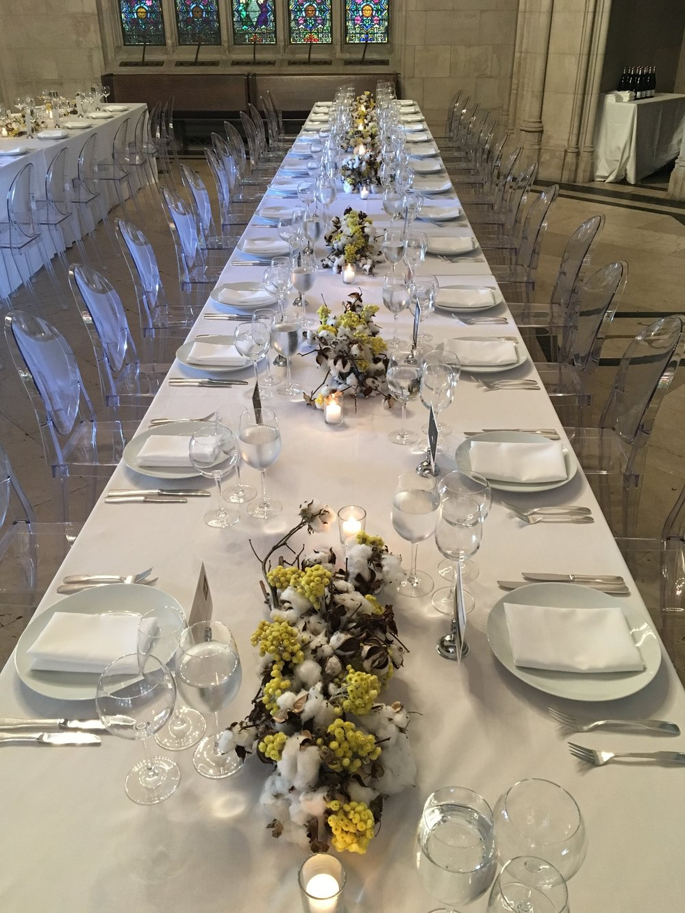 Sophie Calle Dinner with Galerie Perrotin