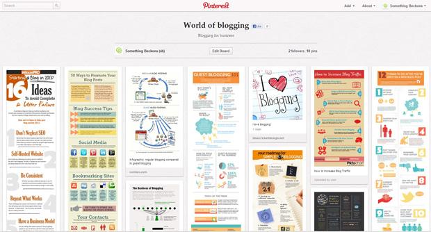 something-beckons-world-of-blogging-pinterest-board