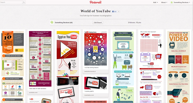 something-beckons-world-of-youtube-pinterest-board