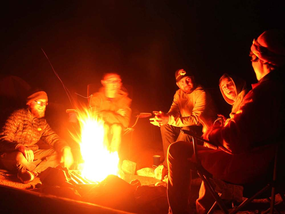 The traditional campfire has become a digital one (Image from madebygrizzly.com)
