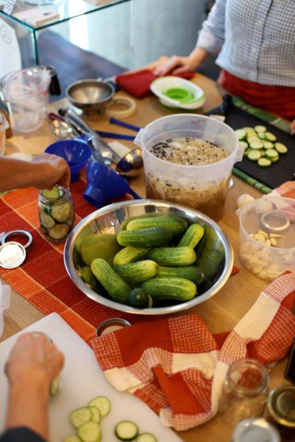 PICKLING WORKSHOP WITH MASTER FOOD PRESERVERS LAURIE DILL & KAREN HOBERT