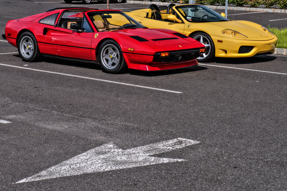 Ferraris at Cars and Coffee NJ.jpg