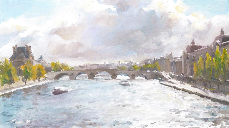Seine River, Paris, France