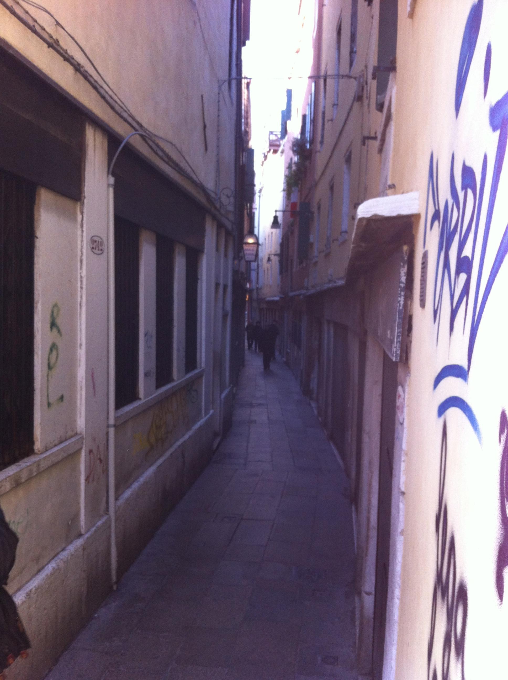 Lots of little alleys