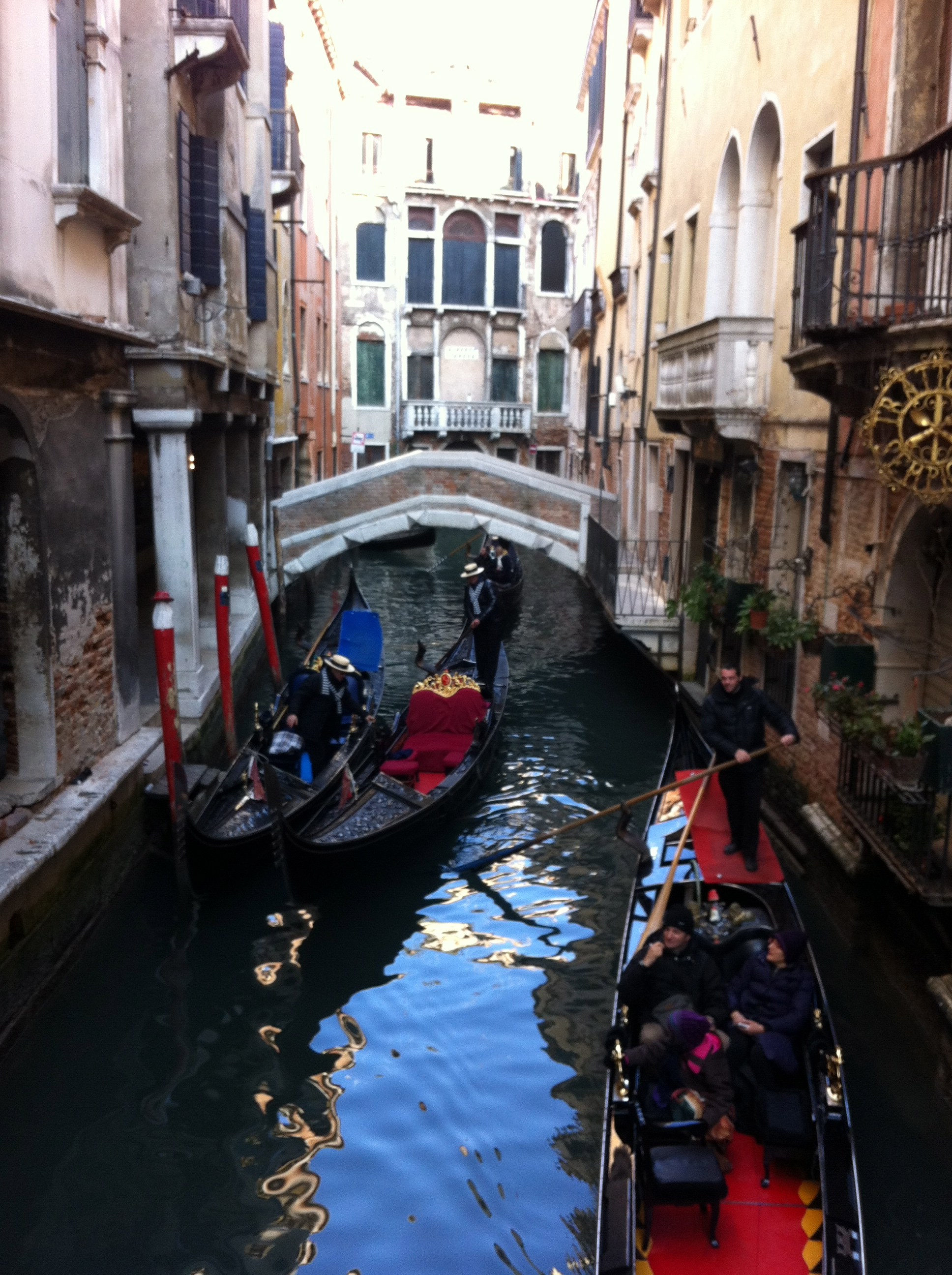 Cute little bridges and Gondolas