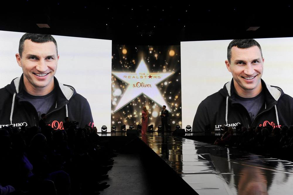 Dedicated Video message from Wladimir Klitschko   Foto: BrauerPhotos © Neugebauer for s.Oliver