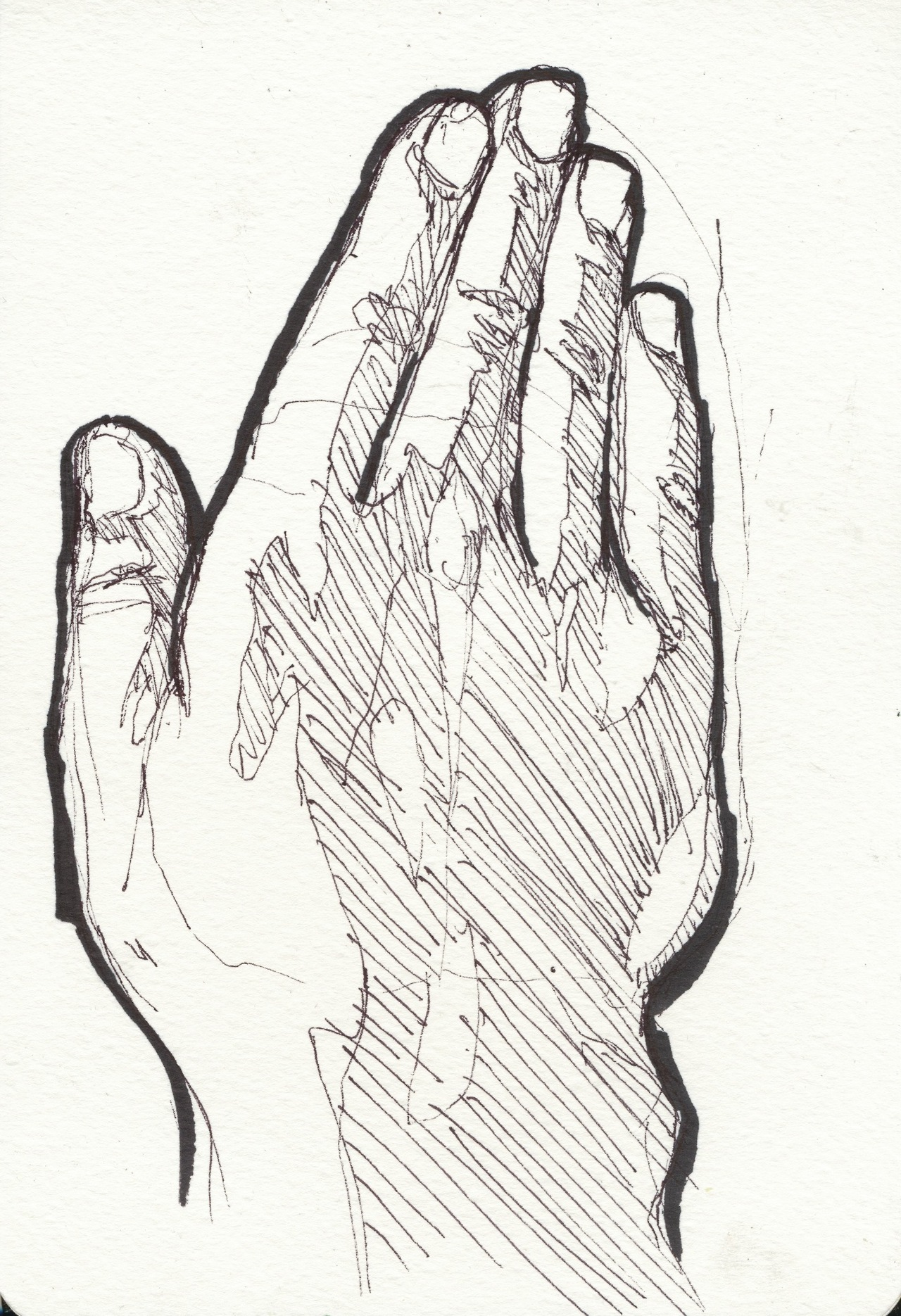 Hi, I've got a website now  thomaskirkeberg.com  check it out. In other news, I drew a hand.