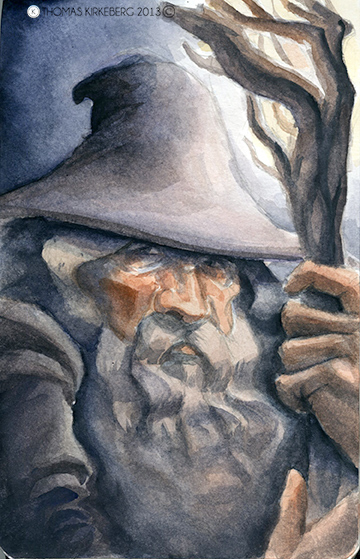 Gandalf from The Lord of the Rings.