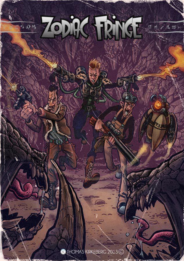 Zodiac Fringe Cover #2