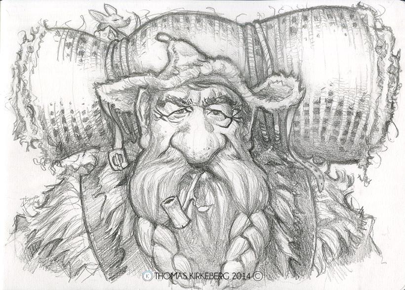 A wandering dwarf.