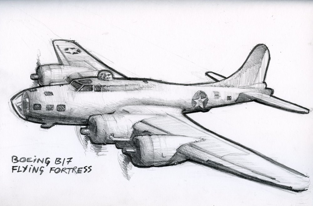 Boeing B17 Flying Fortress