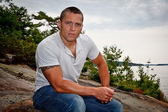 photo of Matt Lennox by John Brisbane