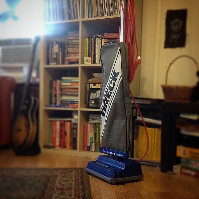 Welcome to the family, Number 4! #newvacuum #oreck #oreckxl #newleafcleans #philly #phillycleaners #19125 #fishtown #greencleaning