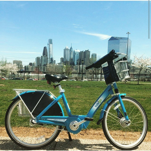 It's a good day to be a Philadelphian! @rideindego launch date has arrived! #phillybikeshare #rideindego #bikeshare #ridedontdrive