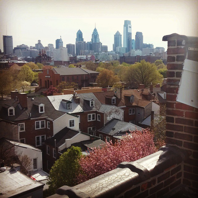 Hope everyone gets a chance to go outside and enjoy this perfect spring day 👌 🌸 🌳 #philly #nolibs #19123