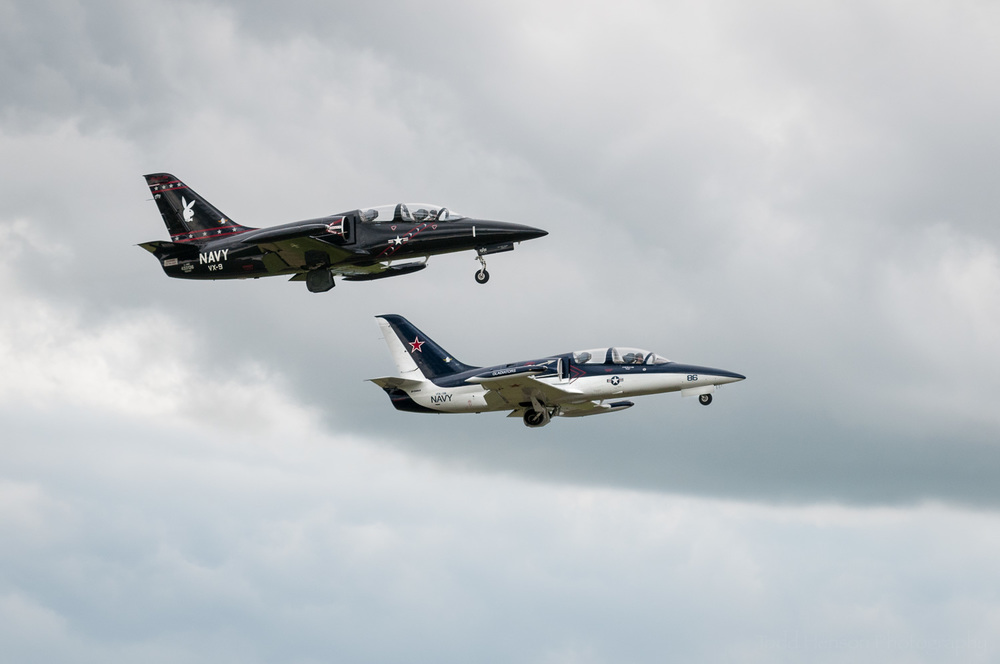 A Pair of Albatross. The Warrior Flight Team.  Camera settings: 165mm, 1/800 sec, f/5.6
