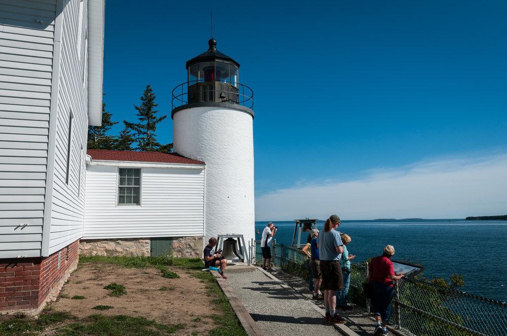 Bass Harbor Head Light, in Acadia National Park, Maine