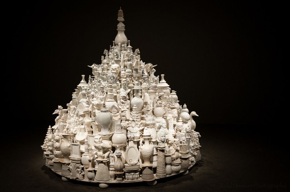 Chinamania White Stupa  at the Sackler Gallery