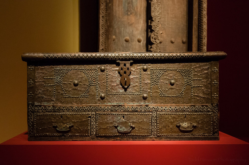 Swahili chest from Tanzania
