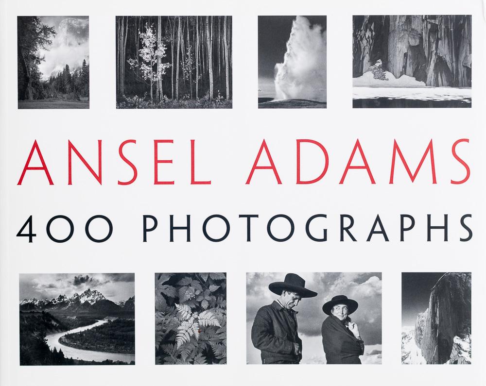 Ansel Adams: 400 Photographs - Cover