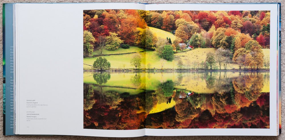 Pages 100-101 of   Stunning Photographs  , in the section titled:  Harmony
