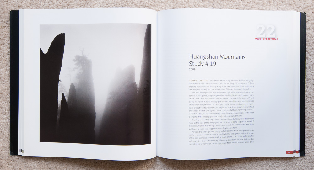 Why Photographs Work  : Photograph 22:  Huangshan Mountains, Study #19  by Michael Kenna