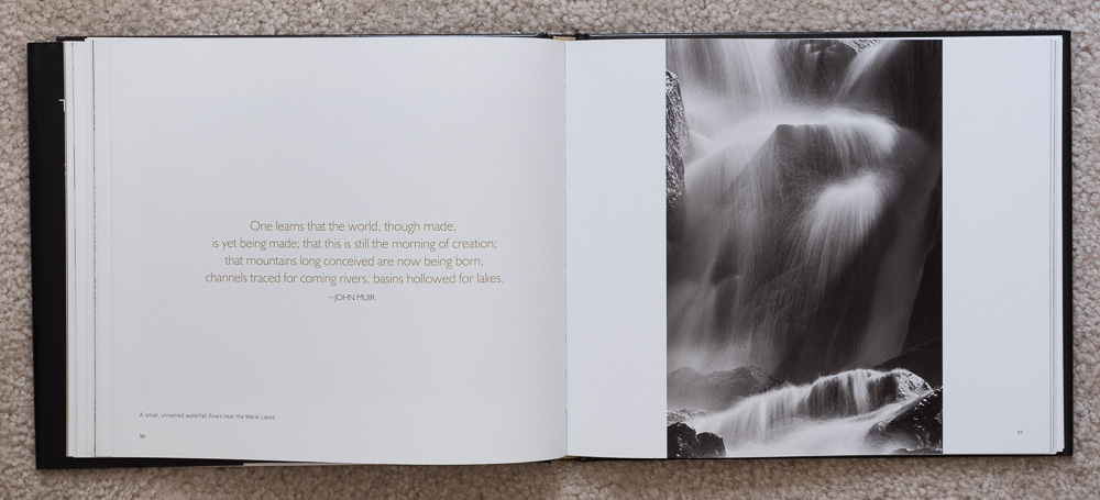 The Ansel Adams Wilderness  , pages 50-51