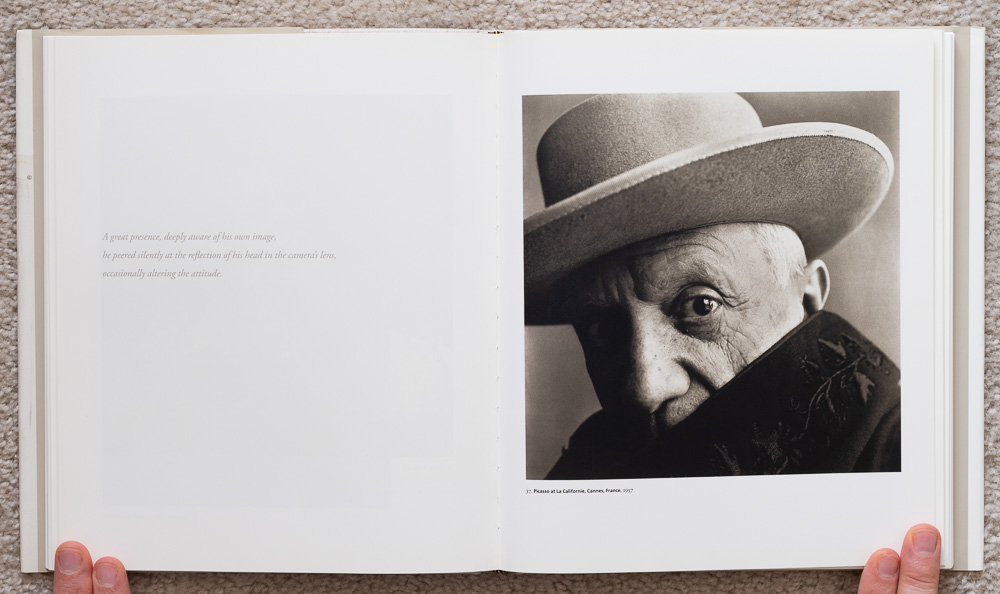 Irvin Penn: Platinum Prints. P late 37: Picasso at La Californie, Cannes, France, 1957