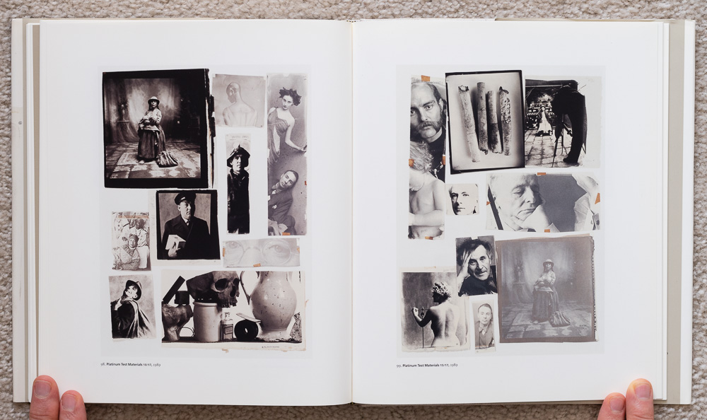 Irvin Penn: Platinum Prints. P late 98: Platinum Test Materials 10/17, 1989. Plate 99: Platinum Test Materials 15/17, 1989
