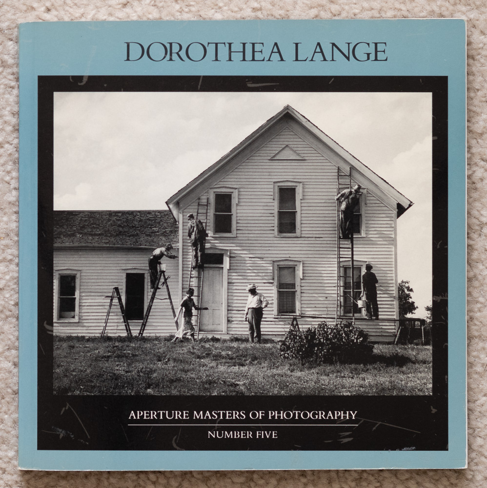 Cover of  Dorothea Lange: Aperture Masters of Photography