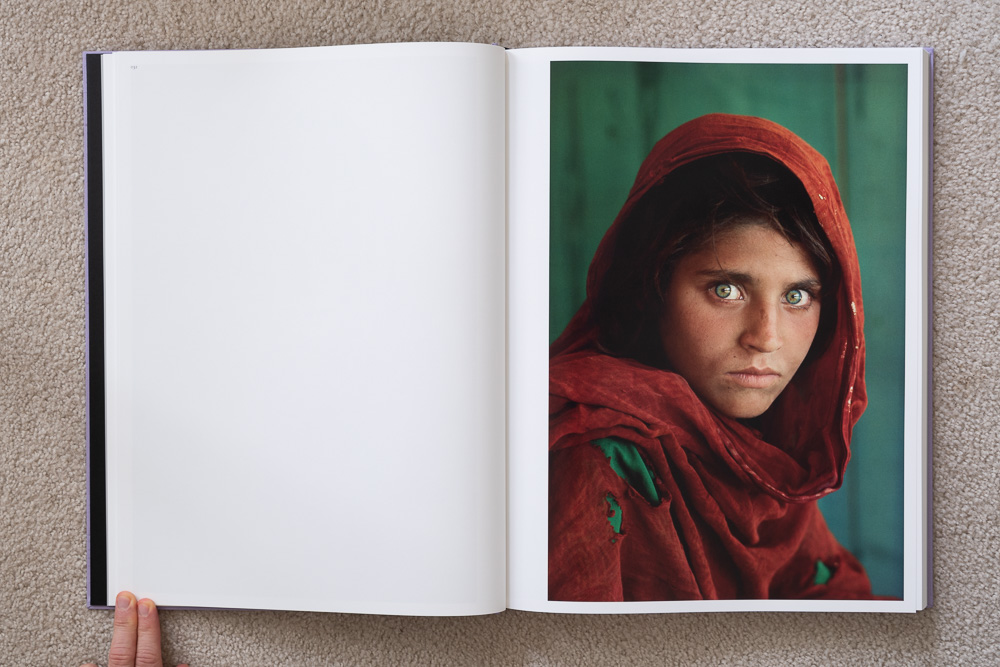 Steve McCurry: The Iconic Photographs . Afghan Girl, Peshawar, Pakistan, 1984.